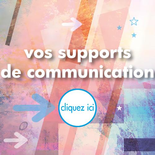 création de vos supports de communication