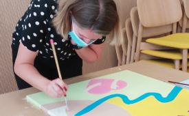 animation fresque entreprise en visio