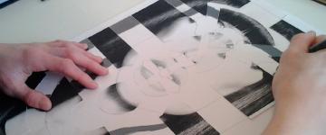 animation team building portrait expressif